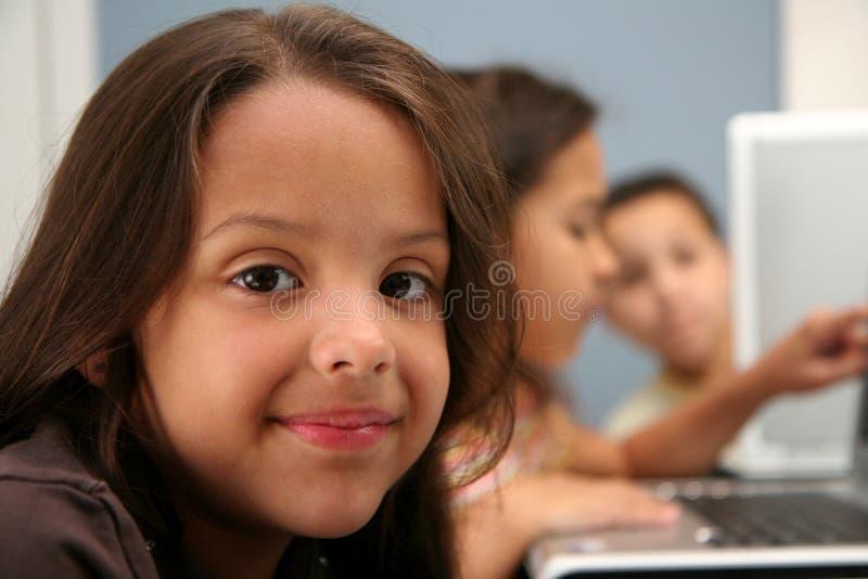 Kinderen op School royalty-vrije stock afbeelding