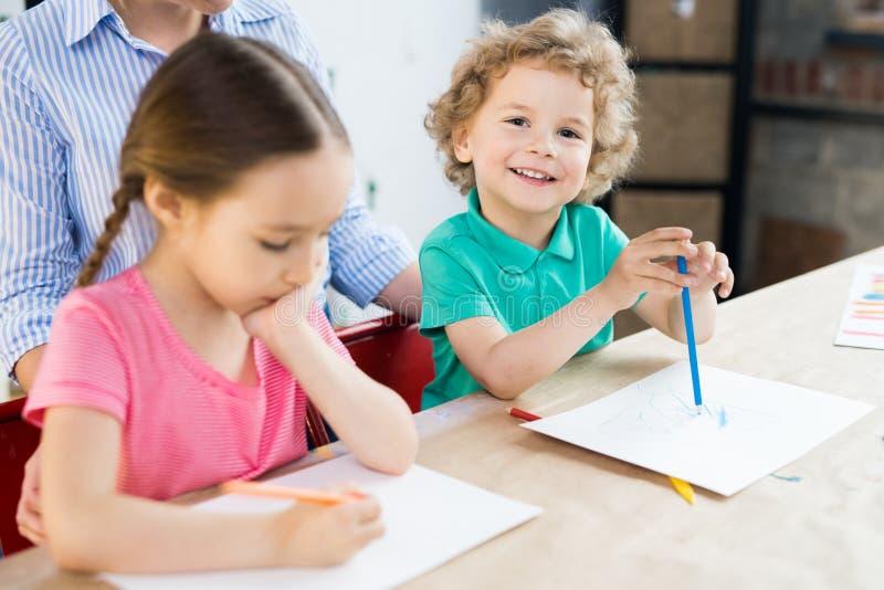 Kinderen` s creativiteit royalty-vrije stock afbeelding