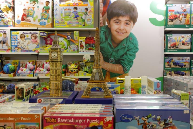 Kinderen` s stuk speelgoed opslag, rgb adobe royalty-vrije stock foto's