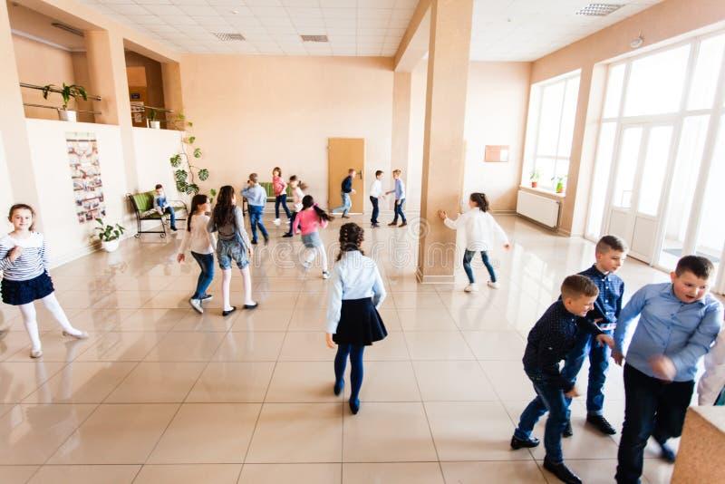 Kinderen tijdens onderbreking royalty-vrije stock foto