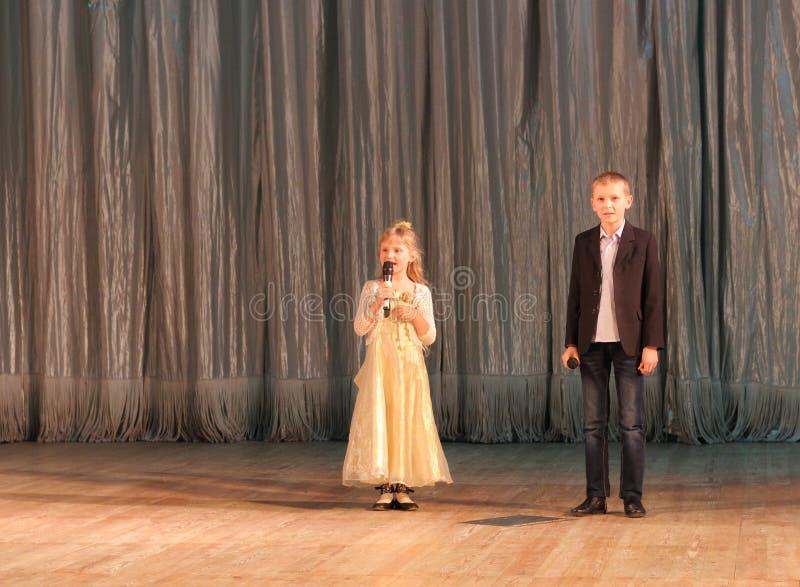 Kinderenkunstenaars royalty-vrije stock foto's