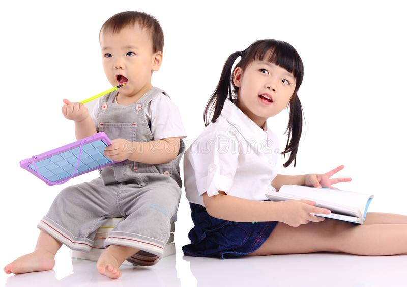 Kindererziehungskonzept stockbild