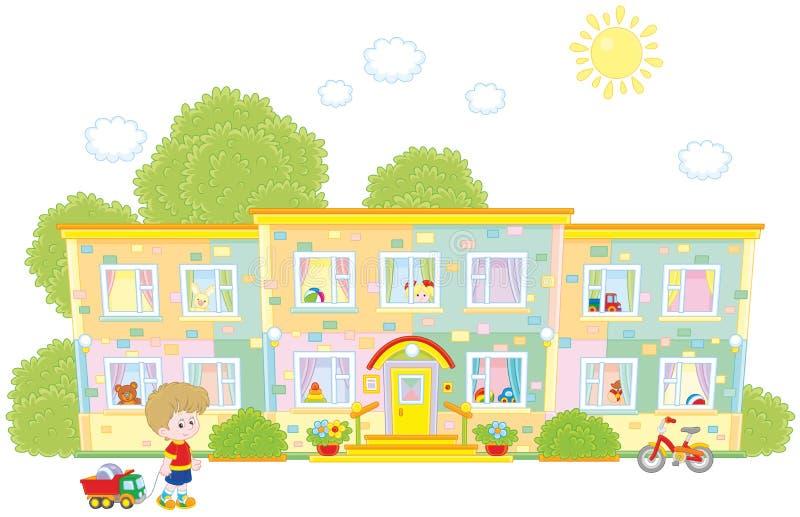 kindergarten ilustración del vector