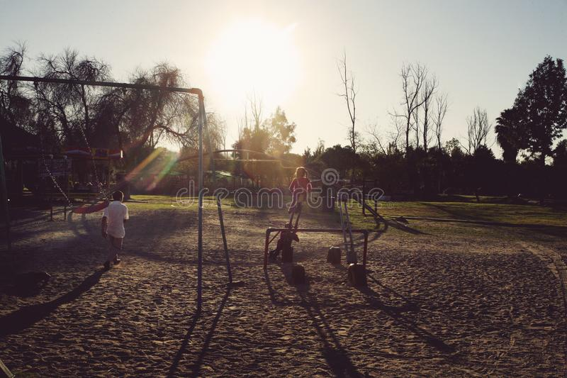 Kindergarten nahe bei Tijuana Botanic Garden lizenzfreie stockfotografie