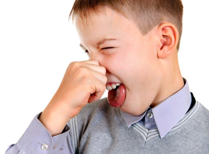 Kindergefühl ein Gestank lizenzfreie stockbilder