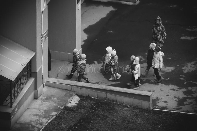 Kindergestalt stockbilder