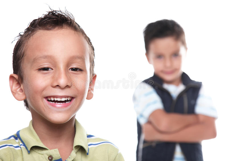 Kinderjaren stock foto