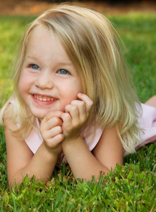 Kinderjaren royalty-vrije stock afbeelding