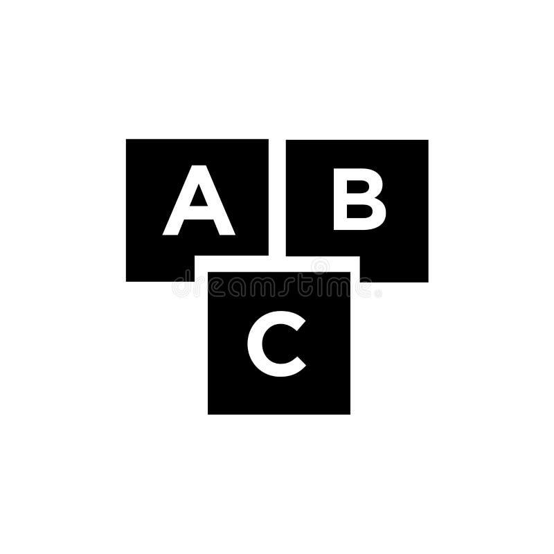 Kinderkrippenikonenvektorzeichen und -symbol lokalisiert auf weißem Hintergrund, Kinderkrippenlogokonzept lizenzfreie abbildung