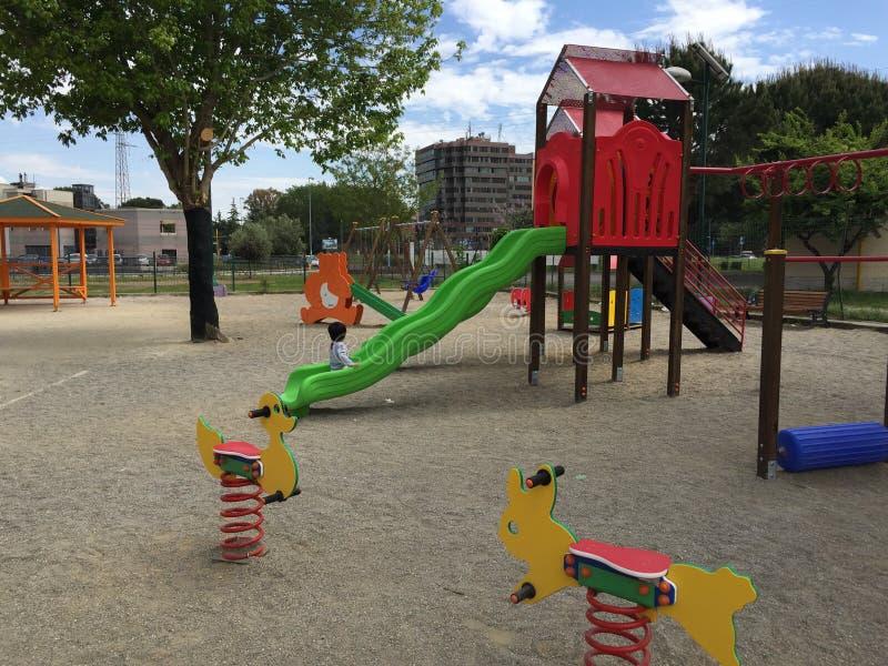 Kinderpark lizenzfreies stockfoto