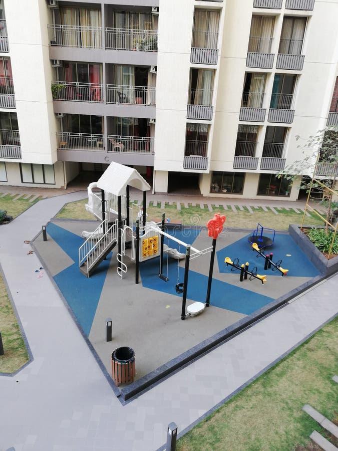 Kinderpark lizenzfreie stockfotos