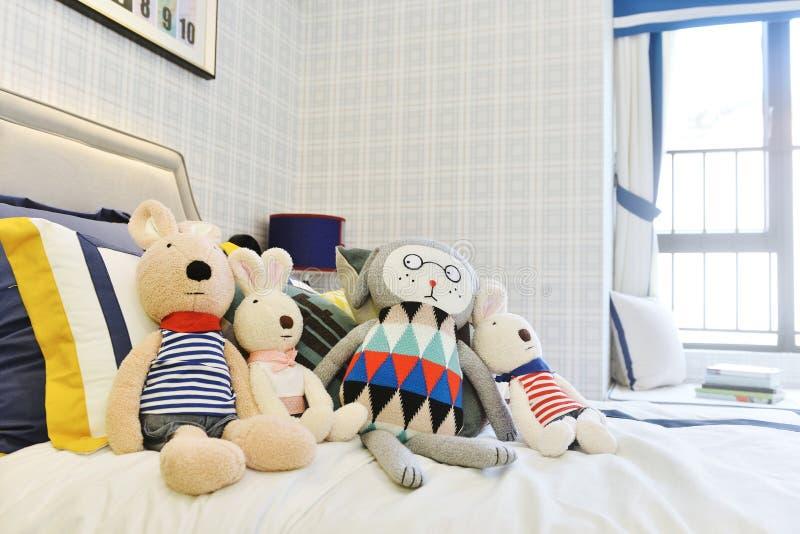 Kinderschlafzimmer stockbild