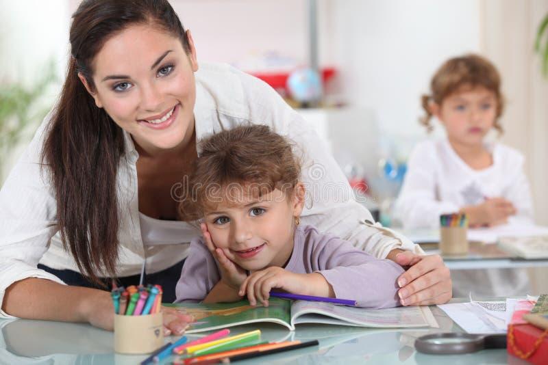 Kindertagesstätte lizenzfreies stockbild
