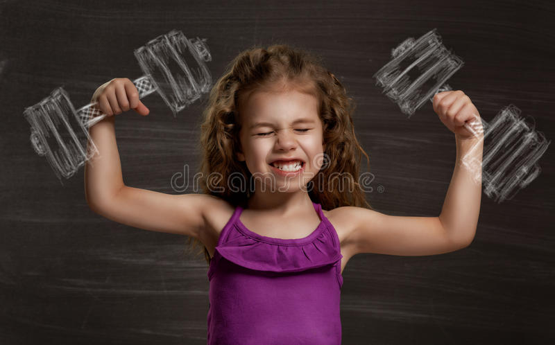 Kindertraum lizenzfreies stockfoto