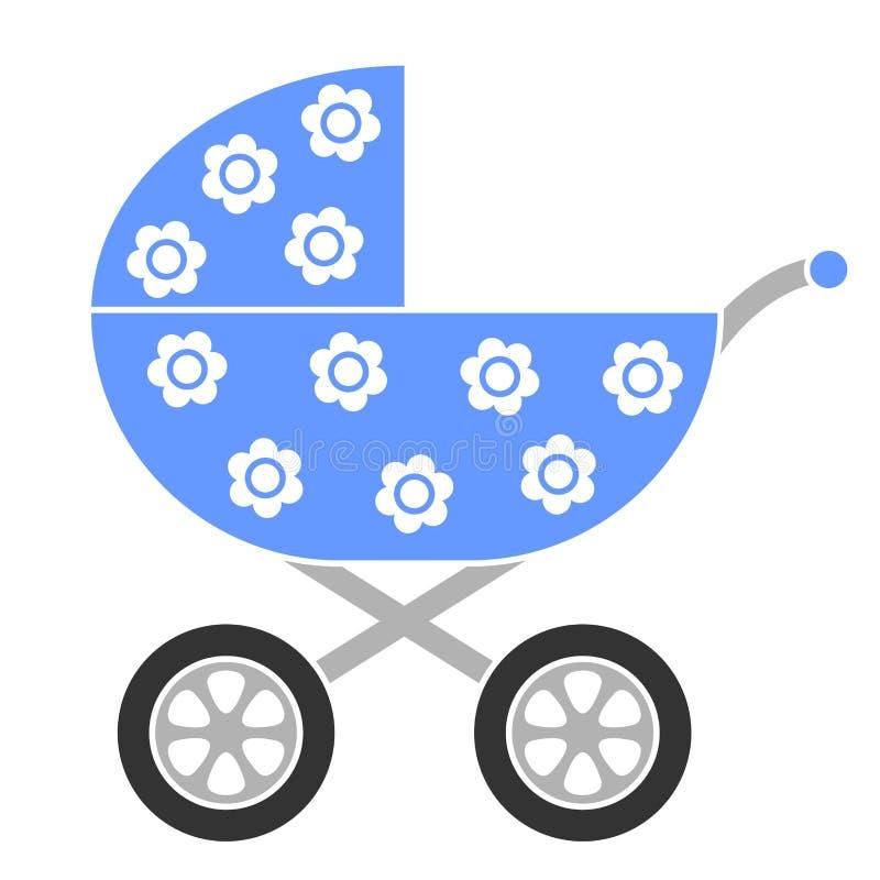 Kinderwagen stock illustratie