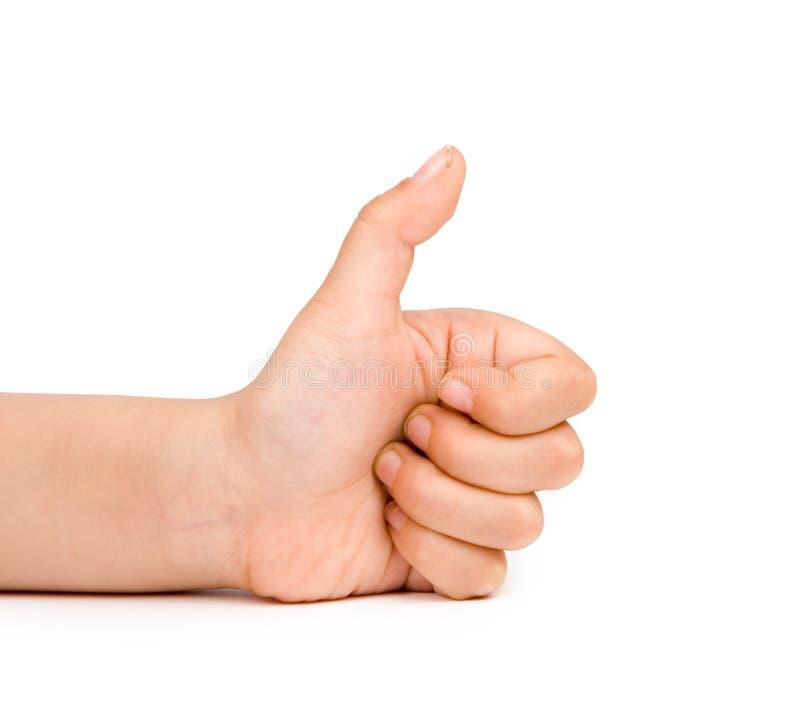 Kindhände stockbild