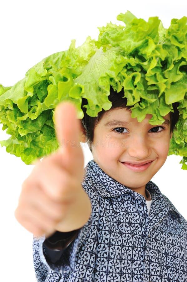 Kindholding-Salathut stockfoto