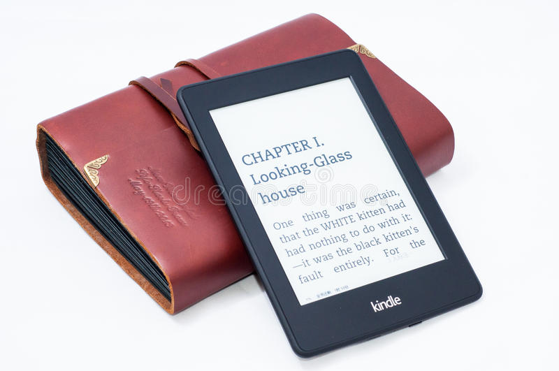 Kindle paperwrite 2 royalty free stock photo