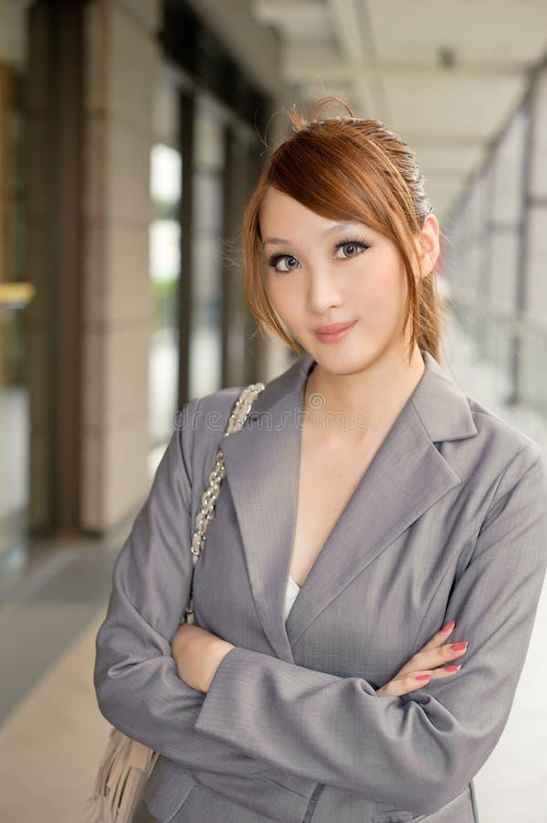 kindly kvinna för affär royaltyfri foto