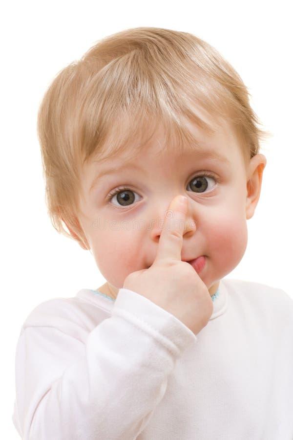Kindnahaufnahmeportrait stockfotos