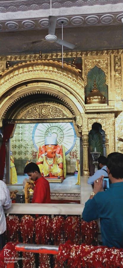 Kindnetter historischer ganesh Tempel Jaipur lizenzfreie stockfotos