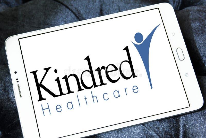 Kindred opieki zdrowotnej logo obrazy royalty free