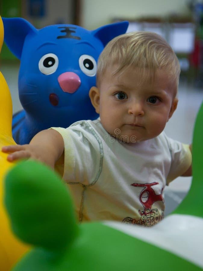 Kindspeelkamer royalty-vrije stock afbeelding