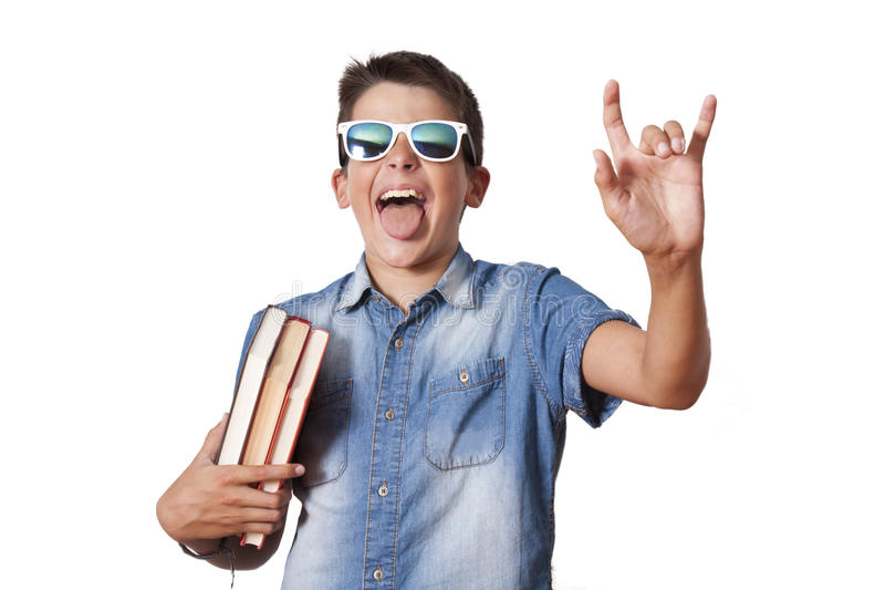 Kindstudent stock afbeelding