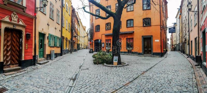 Kindstugatan square, Stadsholmen, Gamla Stan, Stockholm, Sweden stock photo