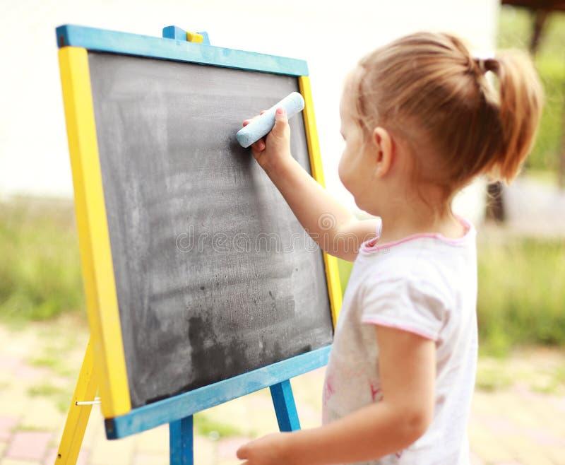Kindzeichnung stockbilder