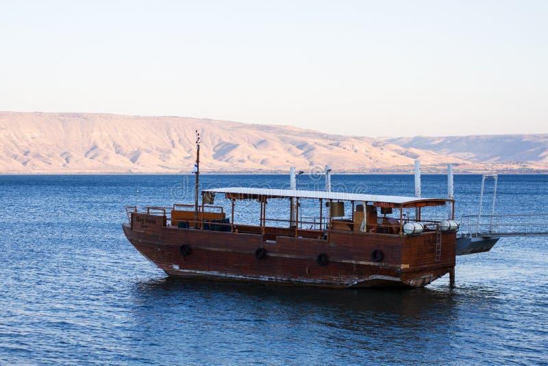 Kineret See, Israel stockbilder