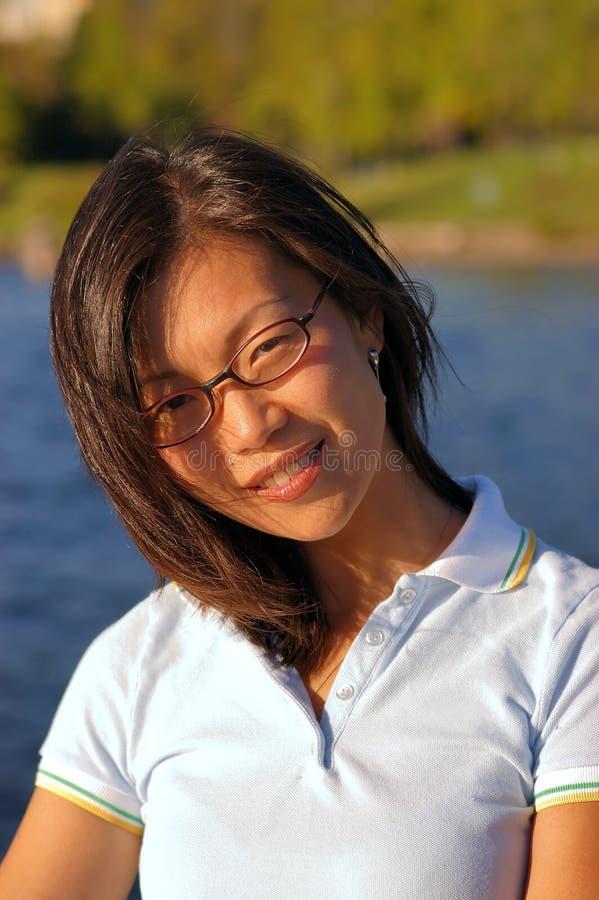 kines 4 ingen kvinna arkivfoton