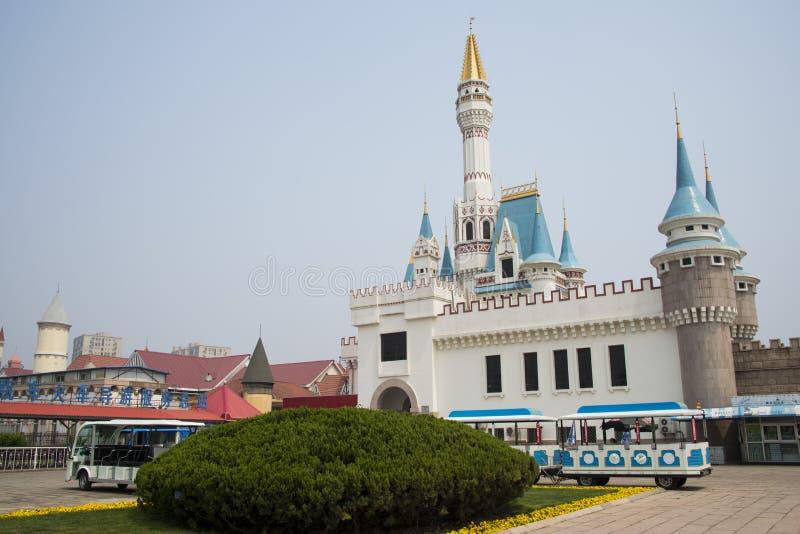 Kines Asien, Peking, världen parkerar royaltyfri fotografi