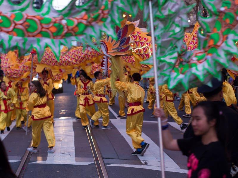 Kines ståtar San Francisco 2016 CA royaltyfria bilder