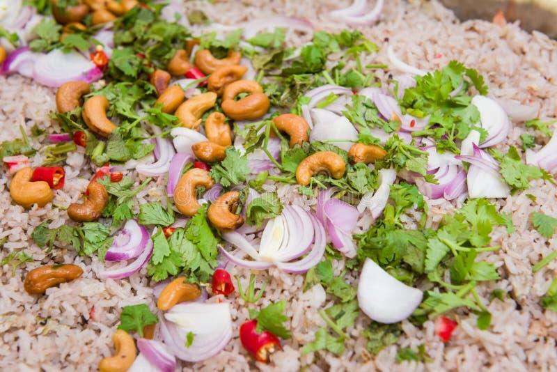 kines stekt ricestil royaltyfri bild