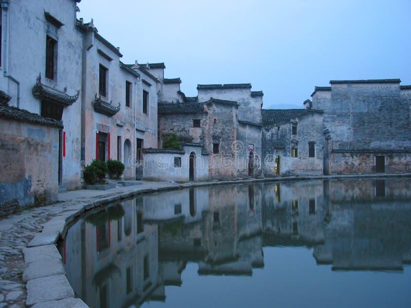 kinesisk by royaltyfria bilder