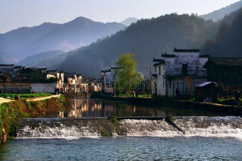 kinesisk by arkivfoto