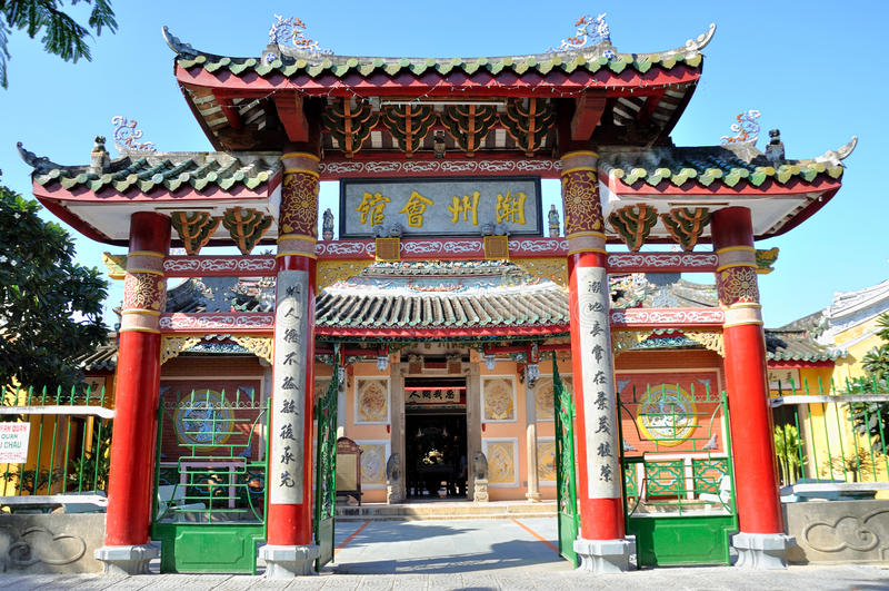 Kinesisk aula royaltyfri foto