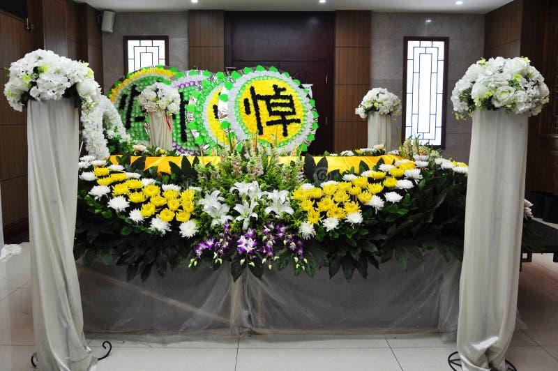 Kinesisk begravning royaltyfria bilder