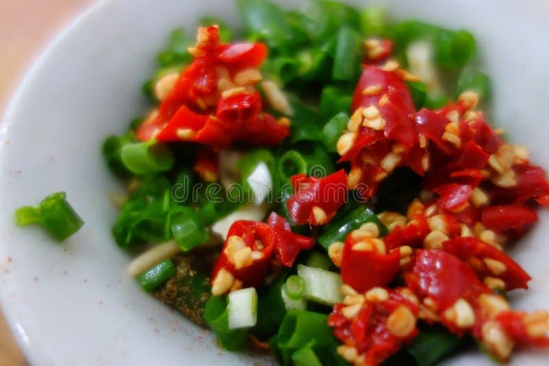Kinesisk chilisås fotografering för bildbyråer