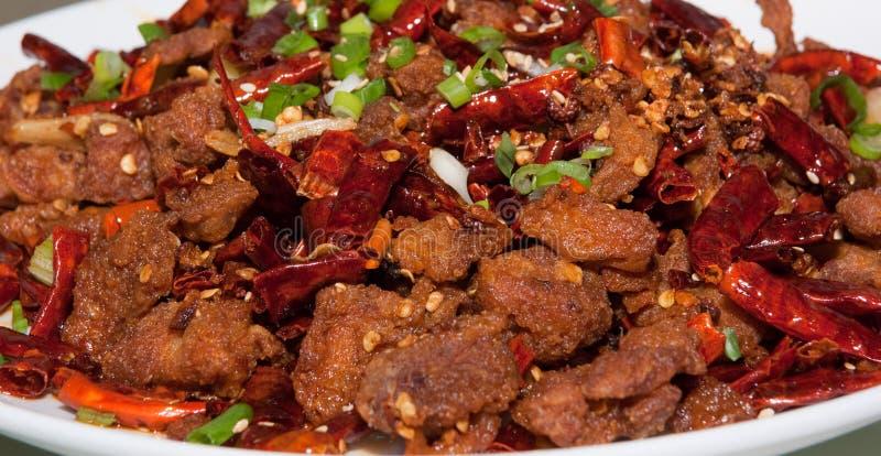 kinesisk chuan mat royaltyfri foto