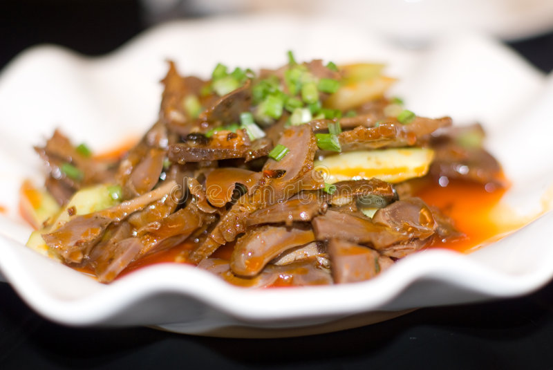 kinesisk chuan maträtt royaltyfri fotografi
