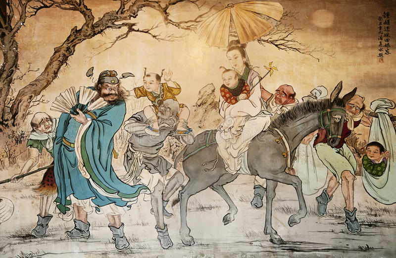 kinesisk classic arkivfoton