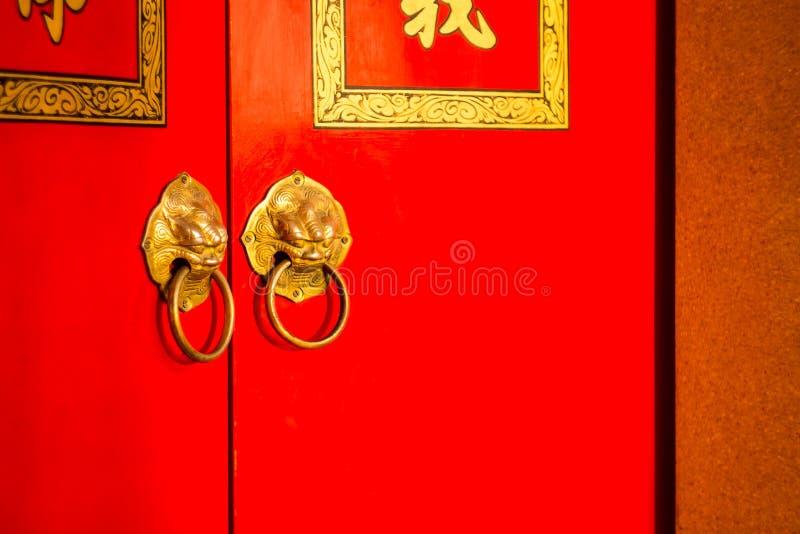 kinesisk dörr royaltyfri foto