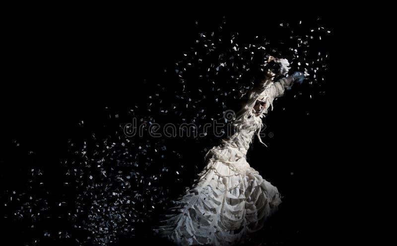 kinesisk dansarenational royaltyfria foton
