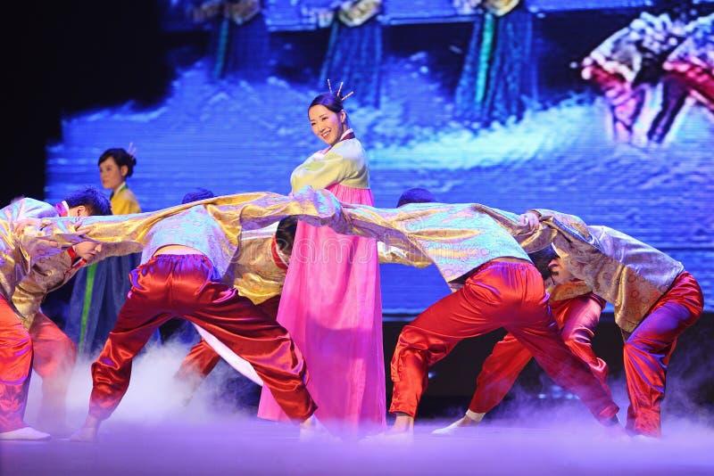 kinesisk dansnational arkivfoto