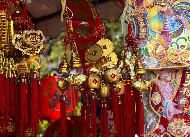 kinesisk dekor för nytt år arkivfoton