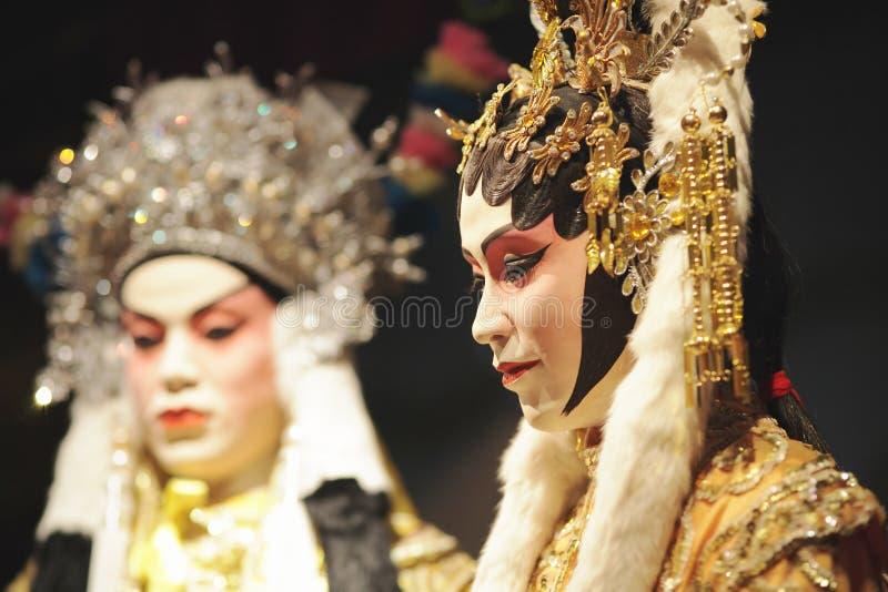 kinesisk falsk opera royaltyfri foto
