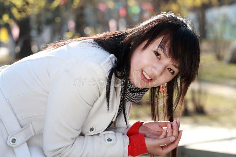 kinesisk flicka royaltyfri bild