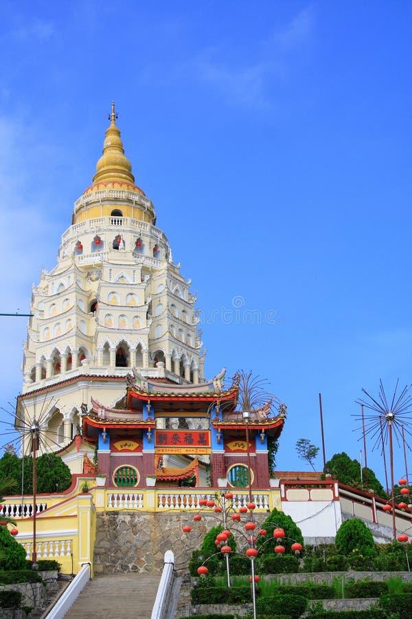 kinesisk georgetown pagoda arkivfoto